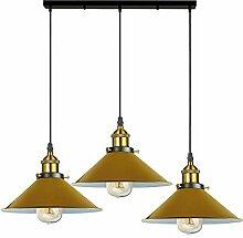 Abat-jour de plafond vintage industriel en métal