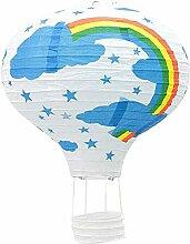 Abat-Jour en Papier en Forme de montgolfière 30,5