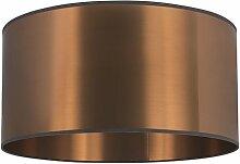 Abat-jour en plastique cuivre 50/50/25 Moderne