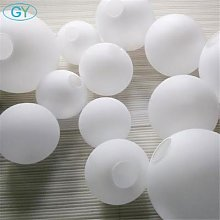 Abat-jour en verre blanc, abat-jour Globe laiteux