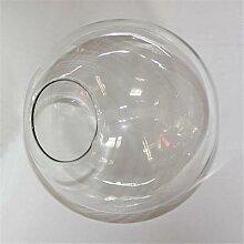 Abat-jour en verre transparent d13 cm d15 cm d20