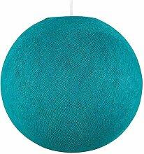 Abat-jour - Globe Turquoise - La Case De Cousin