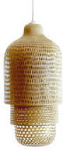 Abat-jour Hanoi / Ø 36 X H 75 cm - Pop Corn bois