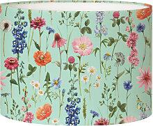 Abat-jour Lampadaire fleur vert acidulé D 45 x H