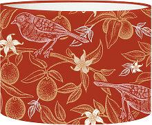 Abat-jour Lampadaire oiseau rouge acidulé D 45 x