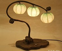 Abat-Jour Lampe à boule fabriquée à la main en