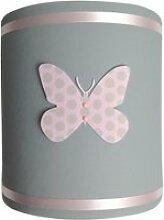 Abat-jour papillons popies - d20 cm