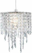Abat-jour perlé - Transparent (443265222)
