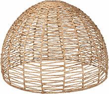 Abat-jour pour suspension en fibre végétale
