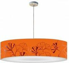 Abat-jour suspension iris mandarine ø 60cmxh 30