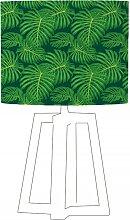 Abat-jour vert imprimé vert d 35 cm