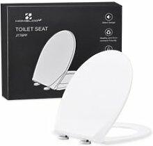 Abattant wc anti-rayures lunette de toilette avec