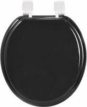 Abattant wc eco en bois noir AUC3304991914023