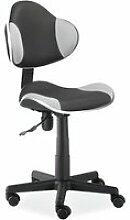 ABBEY - Chaise pivotante de bureau fille-garçon -