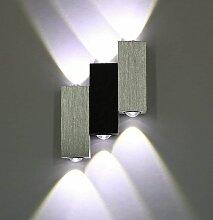 Abcrital - Applique Murale 6 LEDs Intérieur 6W
