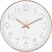 Abcrital - Grande horloge murale ronde moderne
