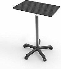 ABD Table de lit portable avec roulettes pour lit