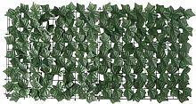 ABOOFAN Clôture de Plante Artificielle Balcon