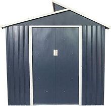 Abri de jardin en métal 5,44 m² Windsor Gardiun