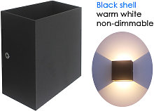 Ac 85-265V 6W Cube Led Mur Lumiere Moderne Cob