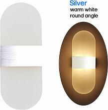 Ac 85-265V 6W Moderne Applique Murale Up Lampe Led
