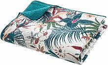 Ac-déco - Dessus de lit imprimé jungle - 240 x