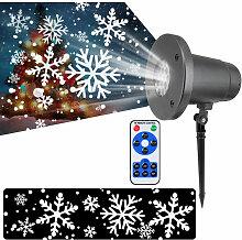 Ac85V-240V 5W Snowstorm Eclairage De Projection De