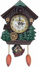 ACAMPTAR Horloge Murale De 8 Pouces en Forme De