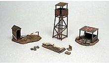 Accessoires de décor de guerre 1/72 : bâtiments