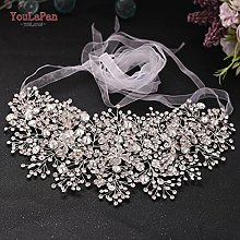 Accessoires de robe de mariée Ceinture en diamant