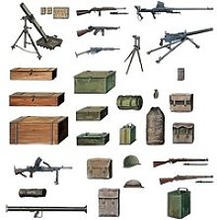 Accessoires militaires : equipements et armement