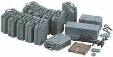 Accessoires militaires : jerrycans allemands