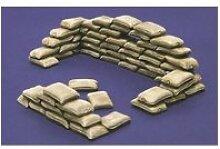 Accessoires militaires : sacs de sable