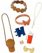 Accessoires poupées barbie : pack 8 accessoires :
