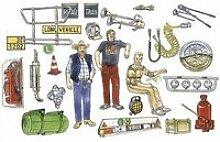 Accessoires pour camions italeri 1/24