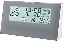Acctim Vertex Horloge station météo Gris