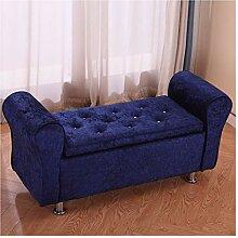 ACD Boîte de rangement pour chaise, repose-pieds,