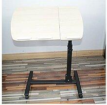 ACD Table De Lit Mobile À roulettes,Angle