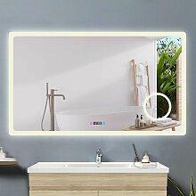 Acezanble miroir salle de bain 120x70cm +