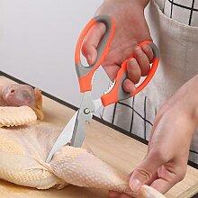 Acier inoxydable ciseaux de cuisine multi-fonction