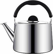 Acier inoxydable pour poêle Top Sifflant Tea