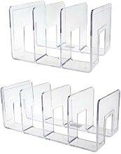 Acrylique Transparent multicouche serre-livres