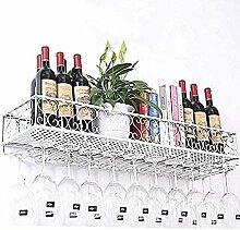 ACUIPP Amoureux Des Vins/Métal Wine Rack Mural,