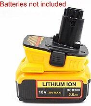 Adaptateur de Outillage électrique batterie pour