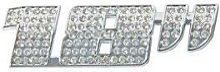Adhesif Sticker 3D Diamant - 18 pouces