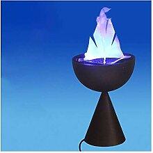 ADSE Lampe de cheminée Halloween Lampe de brasero