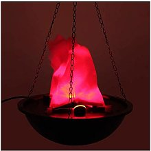 ADSE Lampe de cheminée Halloween Lampe de Brasier