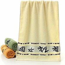 Adulte Serviette 100% fibre de charbon de bambou