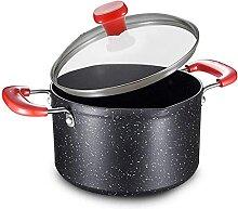 aedouqhr Pot à Soupe Non Collant de Grande