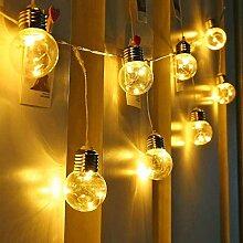 AeeYui Guirlande Lumineuse LED avec 50 Ampoule G45